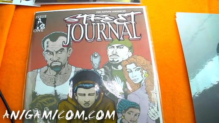 Street journal, Comic Book