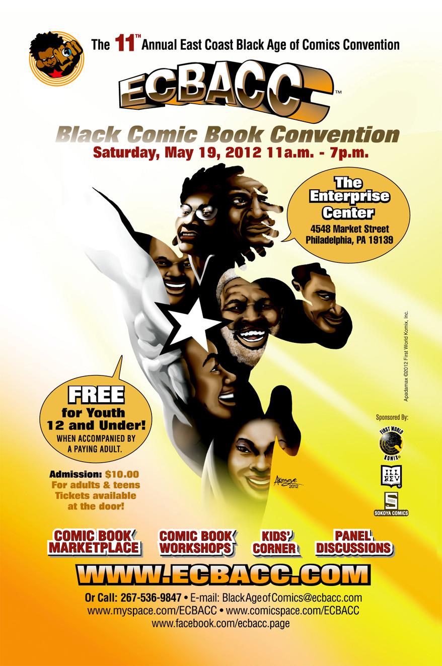 Ecbacc 2012, Comic Con
