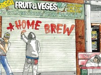 Home Brew, Album cover