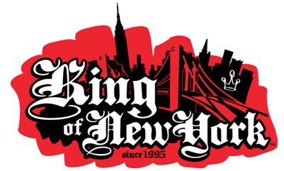 King Of New york logo, KONY
