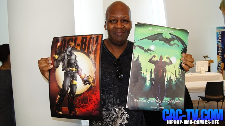 Robert Garrett 1, Bronx Heroes comic Con