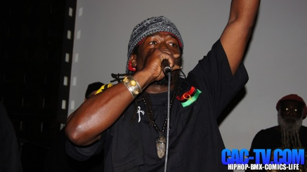 Brother J performing at SOBs