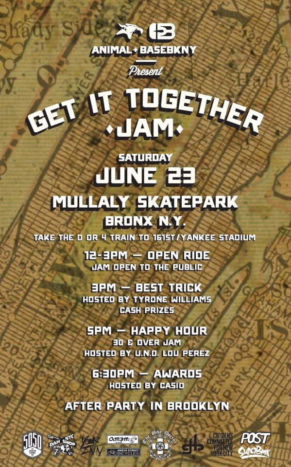 Get it together Jam, BMX