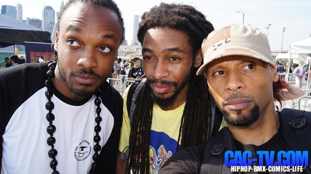 Divine ScienZe, Crazy Al Cayne, Brooklyn HipHop Fest