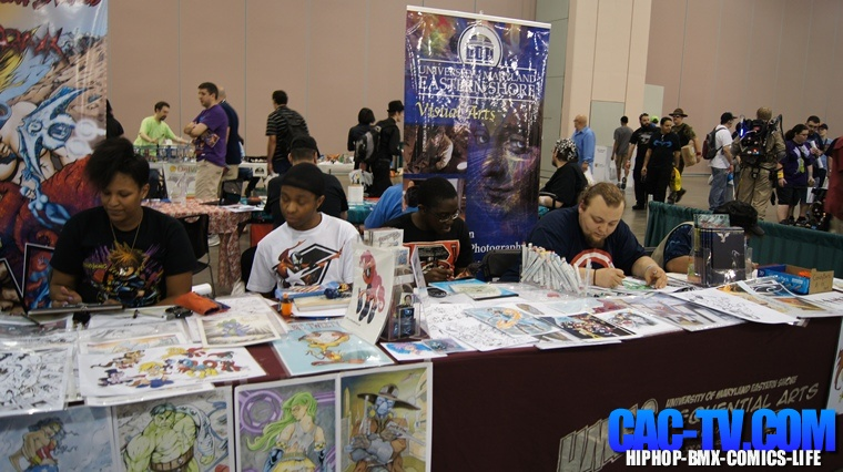 UMES University Of Maryland Eastern Shore, Comic Con