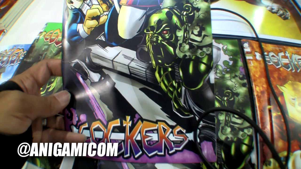 Cockers comic book, Jason Guinn