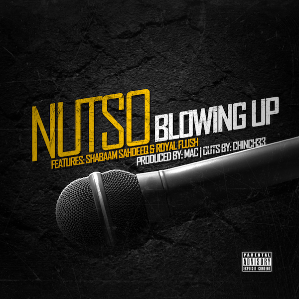 Nutso Blowing up, hiphop
