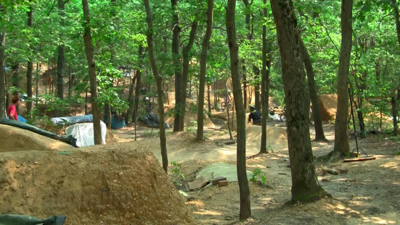 Boondocks trails, bmx