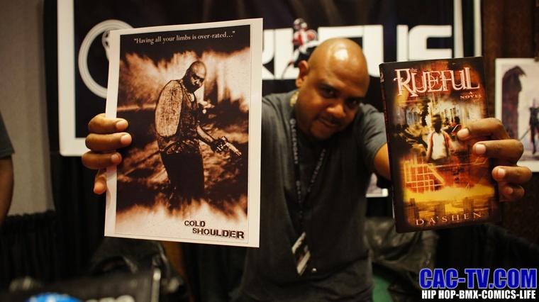 Da Shen, new york comic con 2012