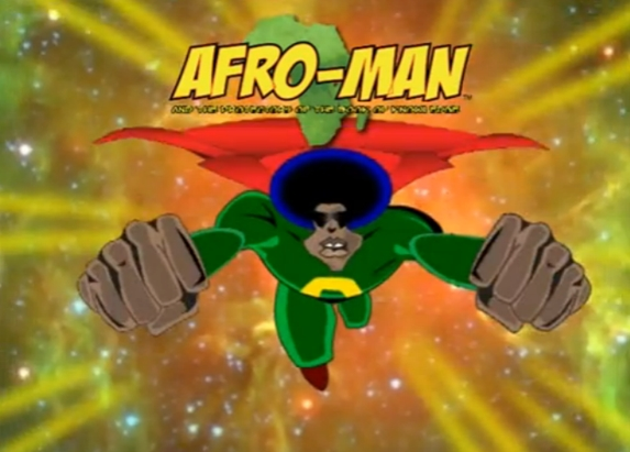 afro man and the protectors