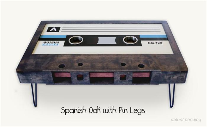 60min cassette coffe table