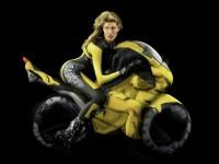Human Motorcycle Street bike