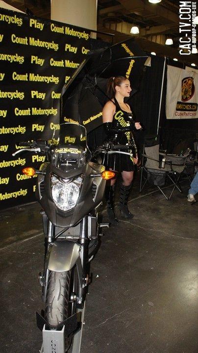 Juliya Chernetsky , count motorcycles