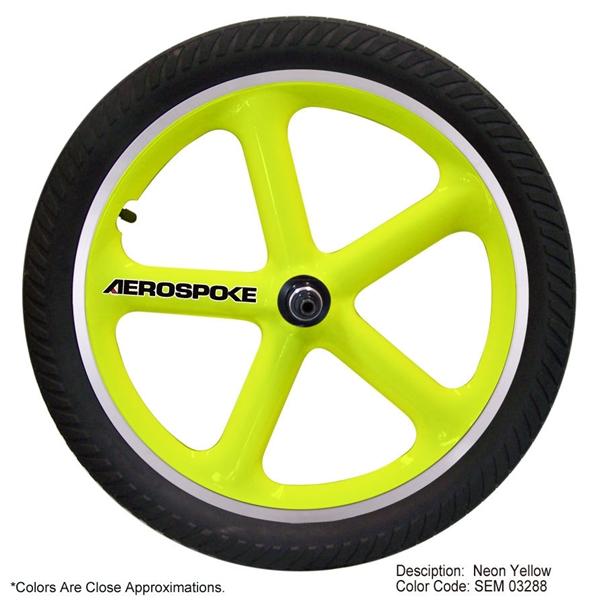 aerospoke bmx wheel