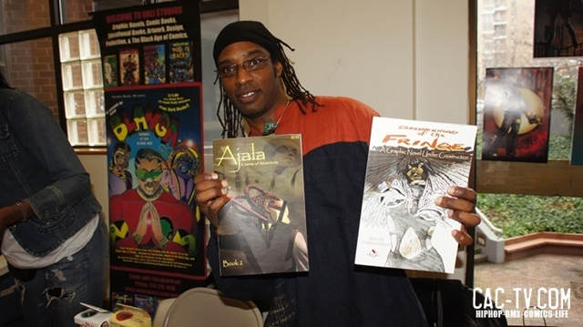 n steven harris, black comic book festival, schomburg center