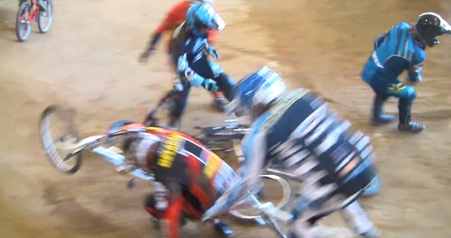 Big Crash Grippen BMX