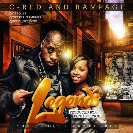C-red, rampage, legends