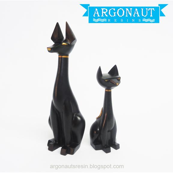 Hound And Tuttz Mini, argonauts resin