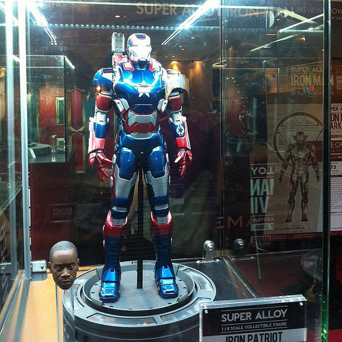 Iron Patriot Don Cheadle 1