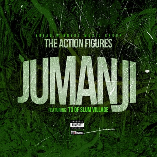 The Action Figures Jumanji