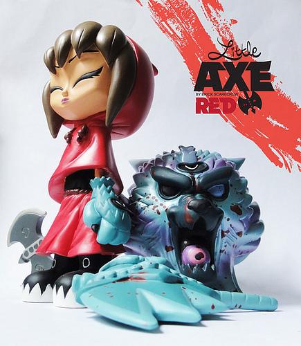 esc little axe red