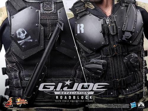 G.I. Joe Retaliation Road Block body vest
