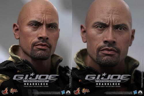 G.I. Joe Road Block figure
