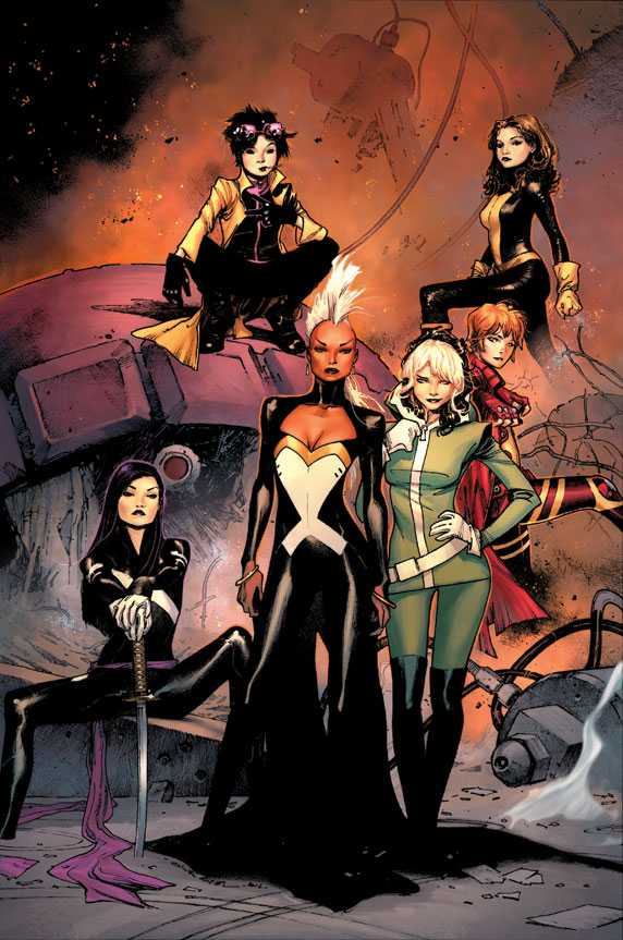 all female X-Men
