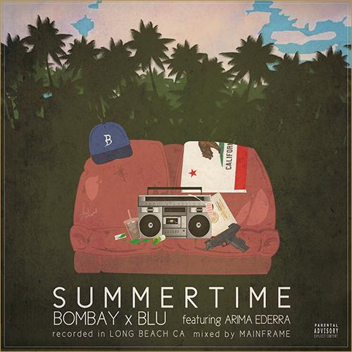 bombay-blu-summertime-cover