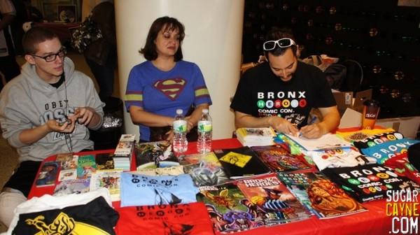bronx heroes comic con, ray felix
