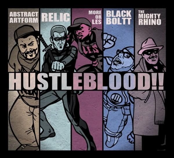 hustleblood cover