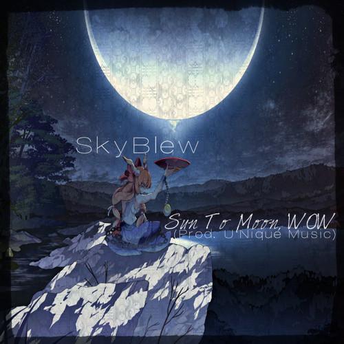 sky blew music sun moon