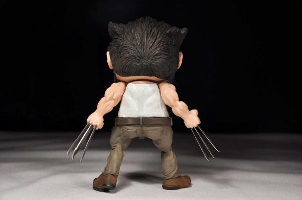 wolverine munny custom back