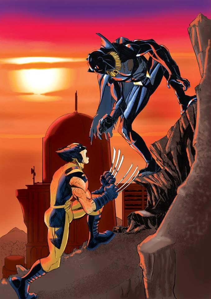 wolverine vs Black Panther