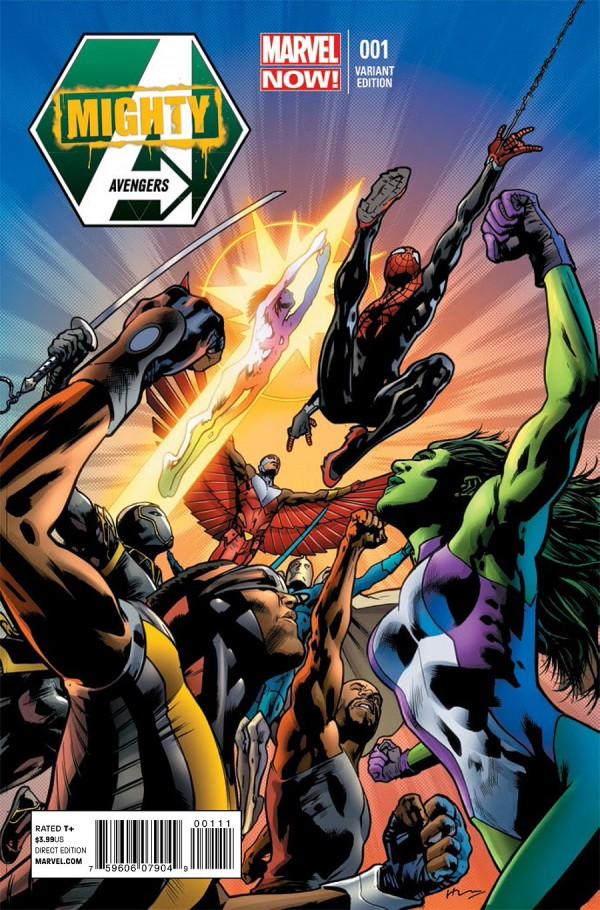 mighty avengers variant cover