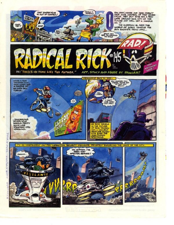 radical rick comic strip