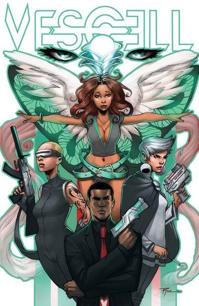 Vescell #8, comic book