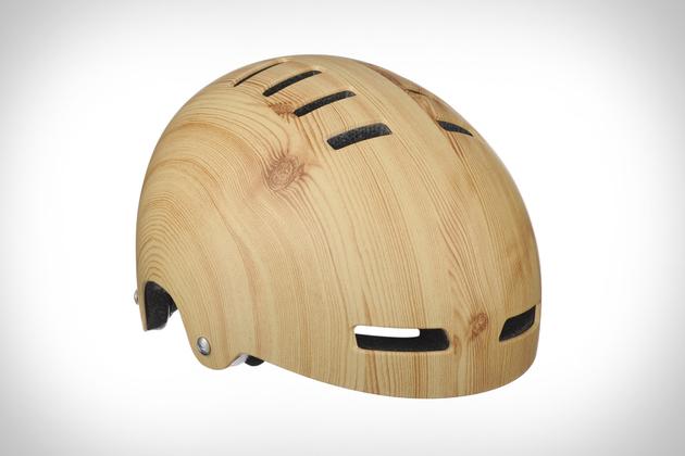 Lazer Sport Wood Grain Helmet