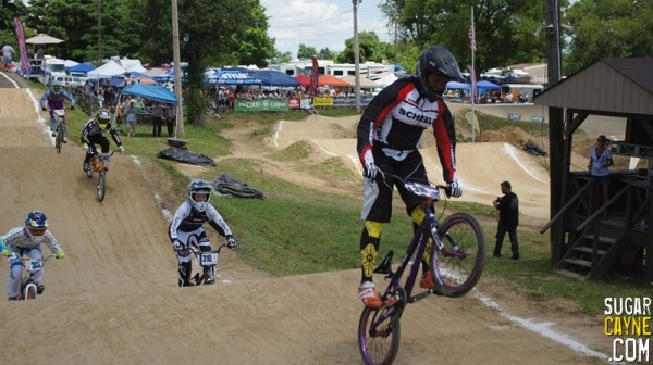 Dom Daniels BMX Leading The Pack