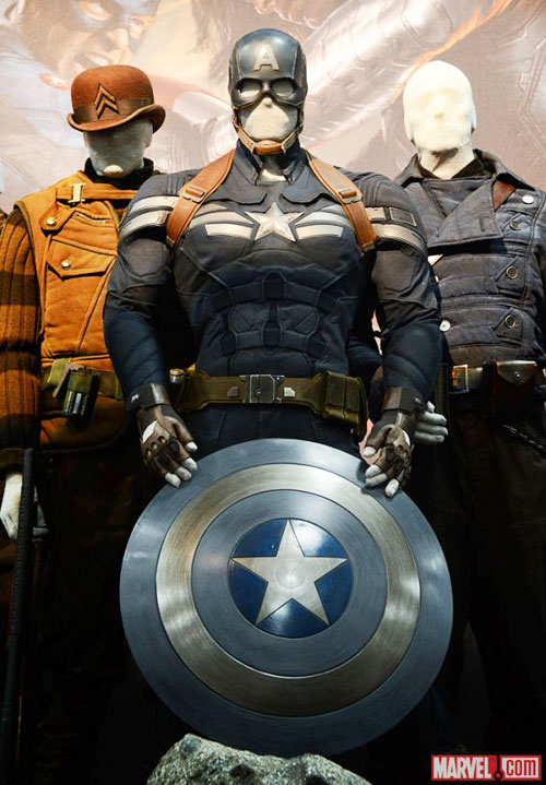captain america winter soldier outfits