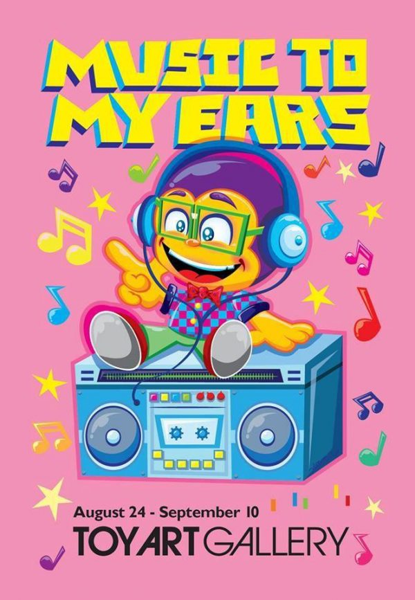 Music To My ears toy art gallery