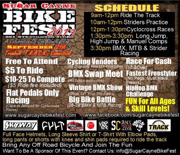 Sugar Cayne Bike Fest Flier