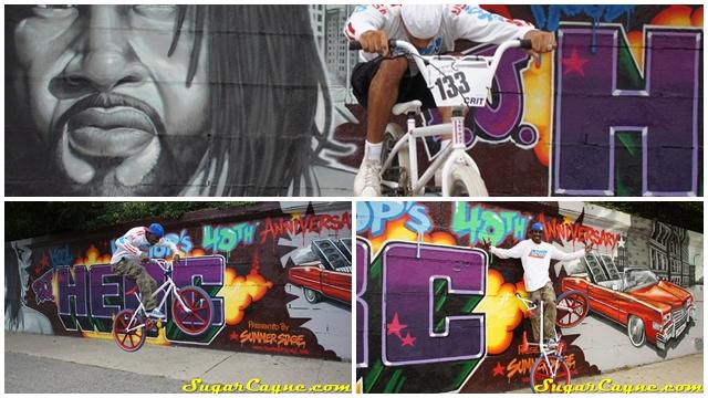 HipHop BMX DJ Kool Herc Skyway