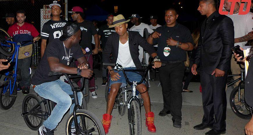 nigel and pharrell VMAs bmx
