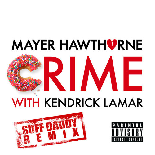 mayer hawthorne, crime remix