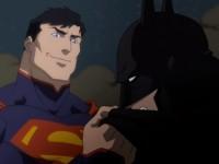 superman ,batman, justice league war