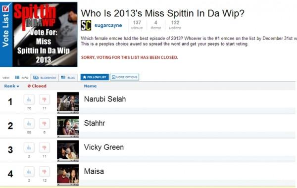 ms spittin in da wip 2013