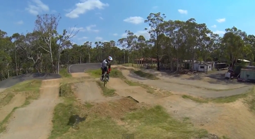 Luke Madill SX Backyard