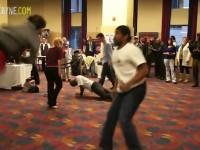 action scene combat