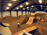 burlington indoor bike park